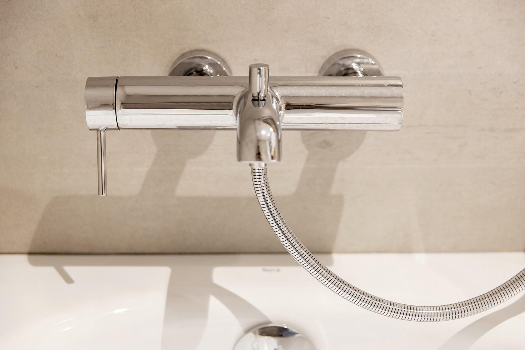 Grifería de la ducha