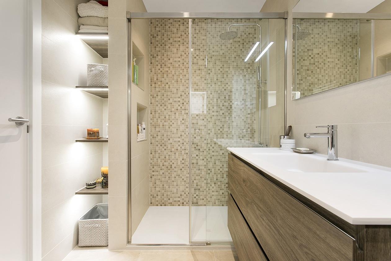 Reforma integral d'un bany a Sant Cugat