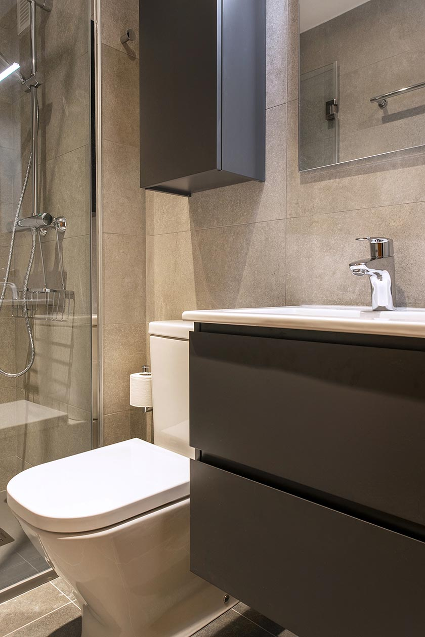 Reforma baño integral en Eixample esquerre Av. Roma