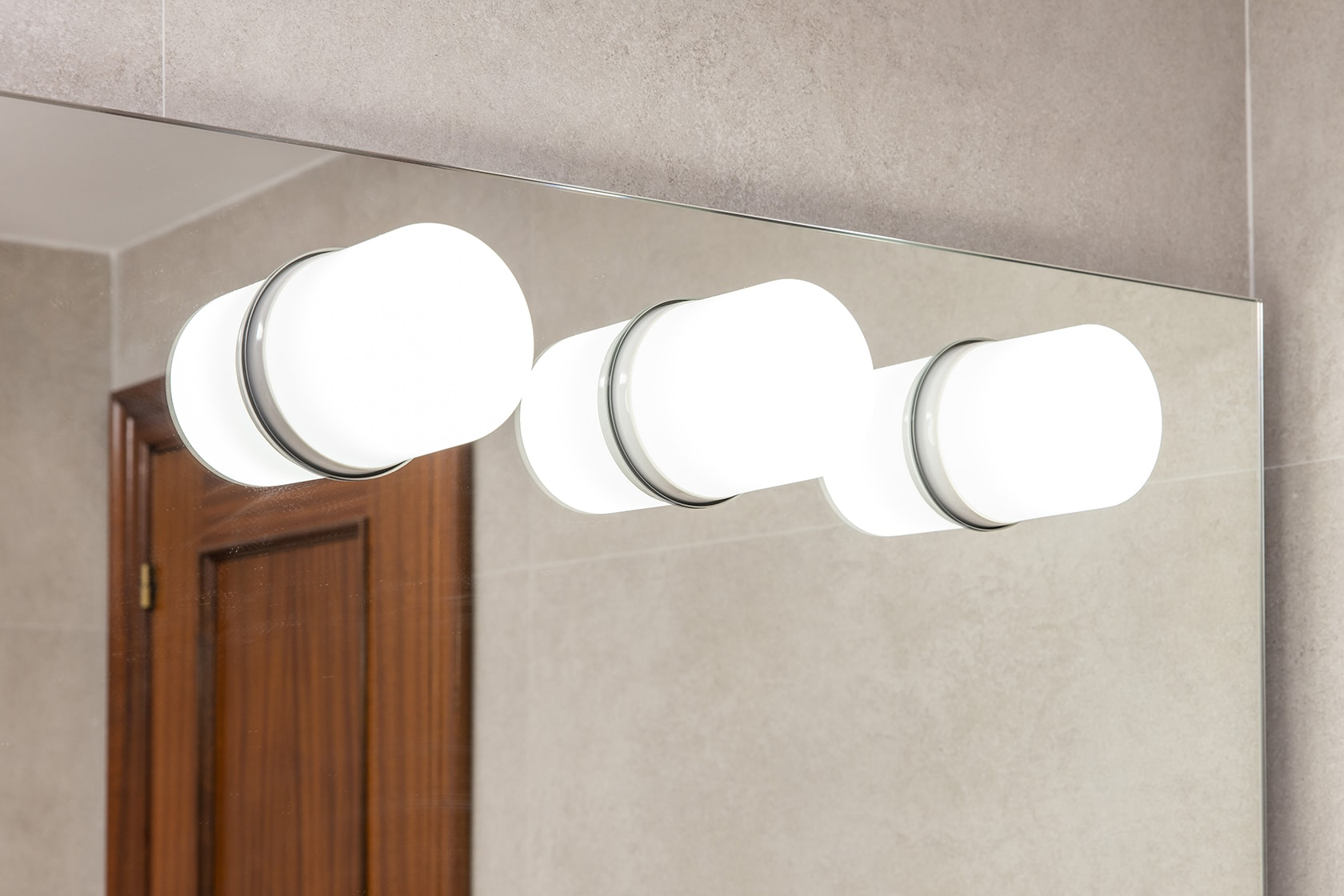 Luz del espejo del baño