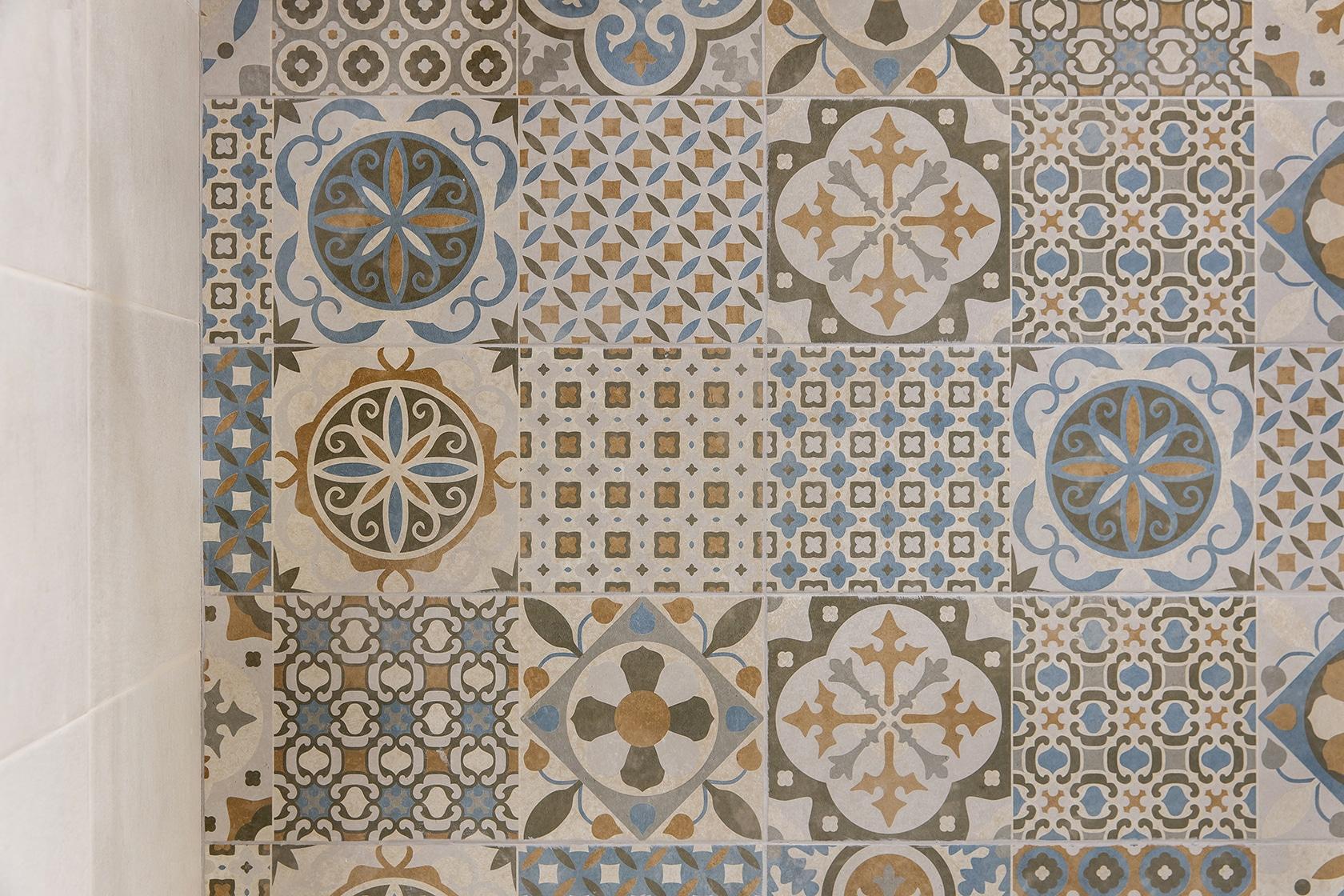 Ducha mosaico