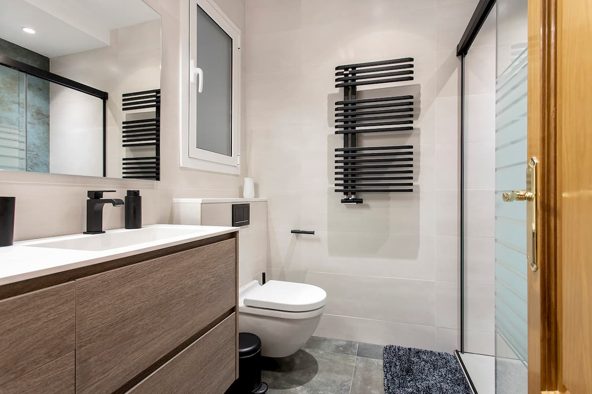 mueble de almacenamiento baño