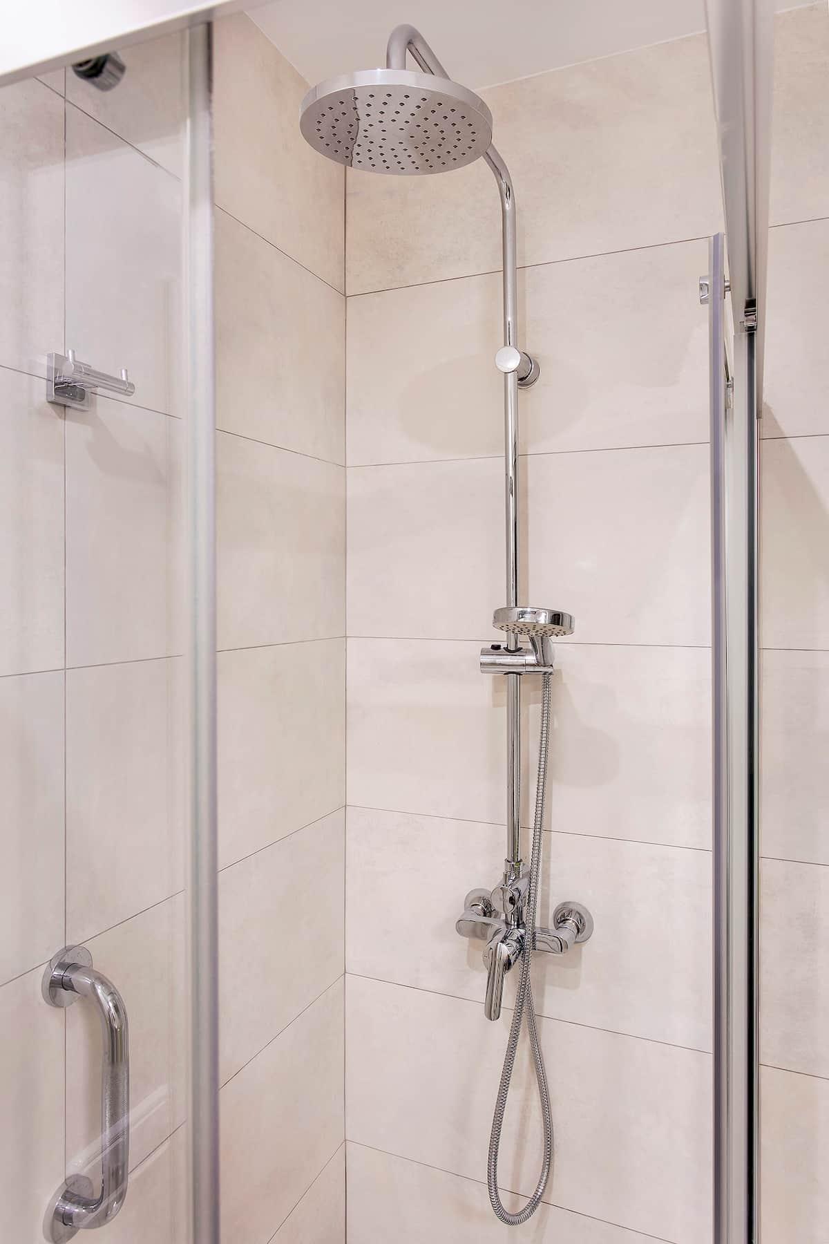 alcachofa en la ducha