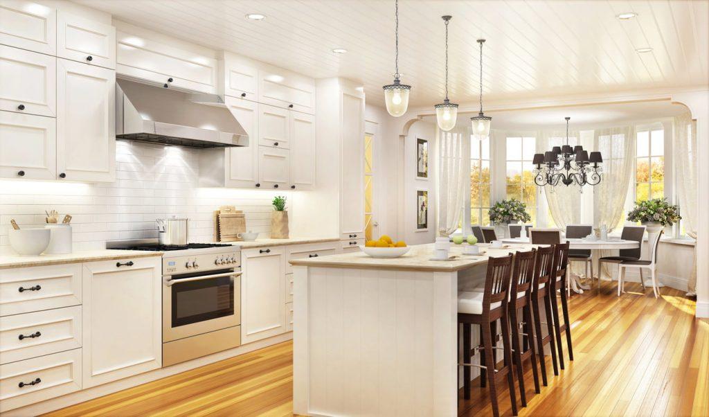 Diseño para cocinas con isla