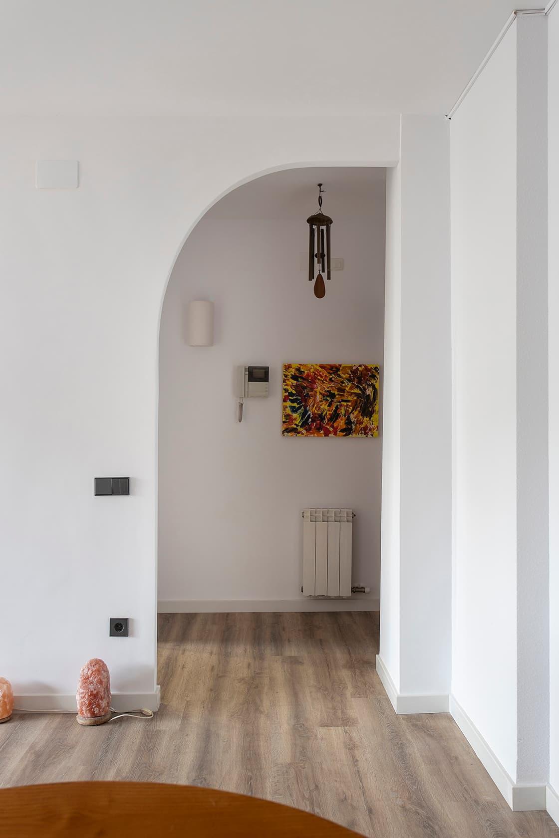 puerta en semiarco