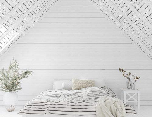 Inspiració de dormitoris en tons blancs. Ideal per a relaxar-te!