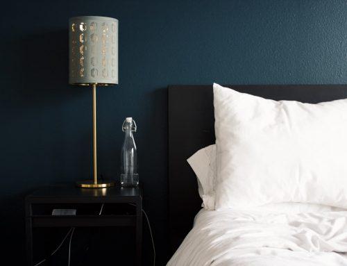 Dormitoris en blau per a relaxar-te