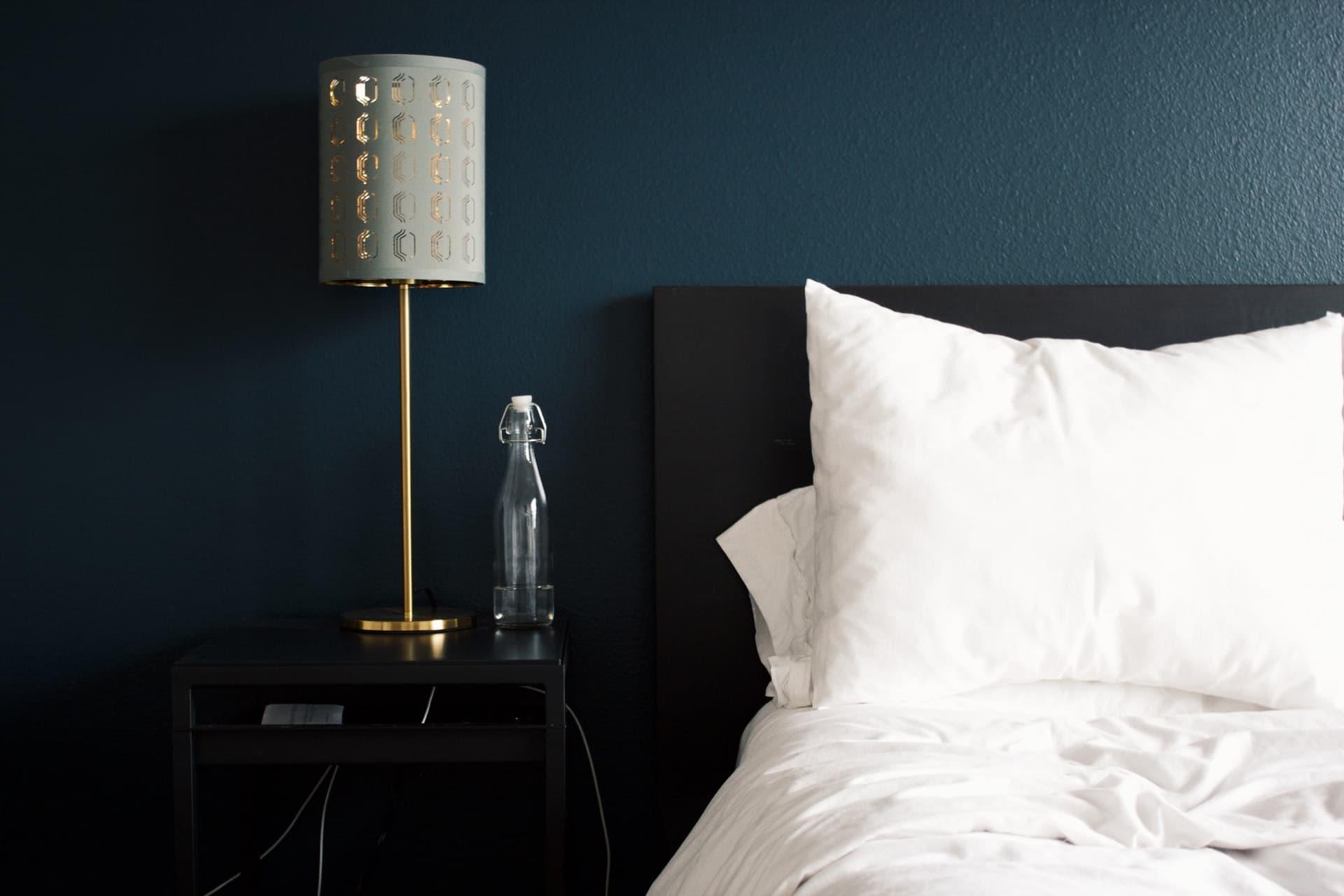 dormitorio en azul