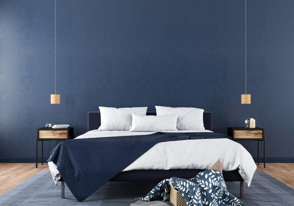 azul paredes dormitorio