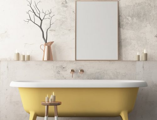 Paper pintat per a banys, la tendència per a crear banys originals